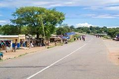 Village of Ngara in Malawi Royalty Free Stock Images