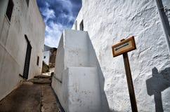 Village of Nijar, Almeria province, Andalusia, Spain Stock Images