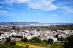Village of Nijar, Almeria province, Andalusia, Spain Royalty Free Stock Photos