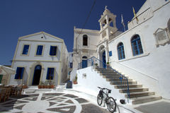 Village of Nikia, Greece Stock Photo