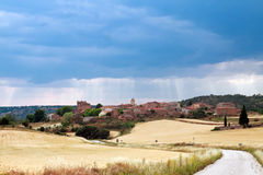 Village Norna in Guadalajara province, Castilla-La Mancha, Spain Stock Photography