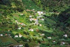 Village on the north coast of Madeira island Stock Photos