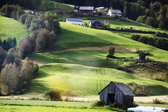 Village in  Norway Stock Image