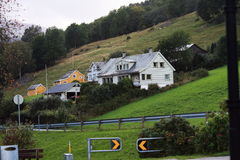 Village in  Norway Stock Photography