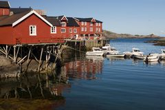 Village A, Norway Royalty Free Stock Photo