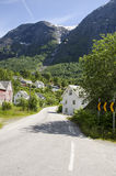 Village in Norway-Europe. Travel destination Royalty Free Stock Photo
