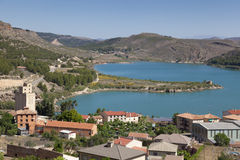 Village of Nuevalos Royalty Free Stock Image