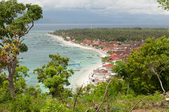 Village in nusa lembongan Stock Image