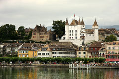 Village of Nyon Royalty Free Stock Photography