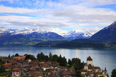 Village of Oberhofen Royalty Free Stock Photography