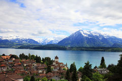 Village of Oberhofen Royalty Free Stock Image