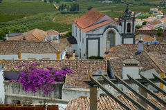 Village of obidos Royalty Free Stock Photography