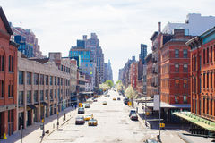 Village occidental à New York Manhattan Image stock