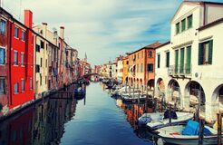 Free Village Of Chioggia Stock Photography - 183713712
