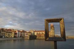 Village Of Collioure Royalty Free Stock Photos