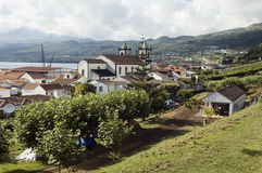 Village Of Lages Do Pico Stock Image