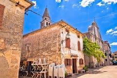 Free Village Of Svetvincenat Ancient Square And Church View Stock Photos - 141546323