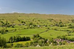 Village Of Troutbeck Stock Images