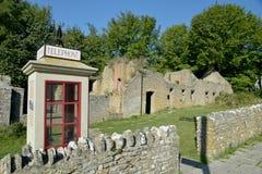 Village Of Tyneham, Dorset On The South Coast Stock Image