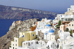 Village of oia Stock Image