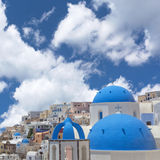 Village of Oia, Santorini. Stock Images