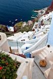 Village of Oia at Santorini island, Greece Royalty Free Stock Photography