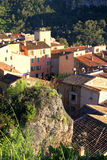 Village with old beautiful houses in Provence, France. Royalty Free Stock Photos