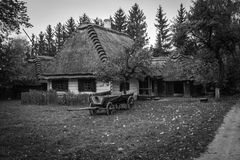 Village. Old Village in Poland, near Lublin Stock Image