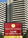 Village olympique (Montréal) Images stock