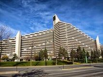 Village olympique Montréal Image stock