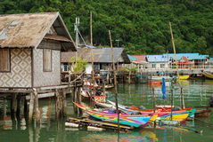 Free Village On Sea Near Phuket Royalty Free Stock Photography - 7792087