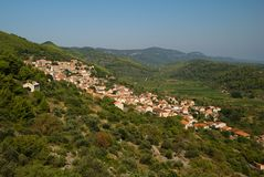 Village On The Island Stock Photography