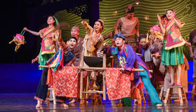 """Village opera-Dance drama """"The Dream of Maritime Silk Road"""" Royalty Free Stock Images"""