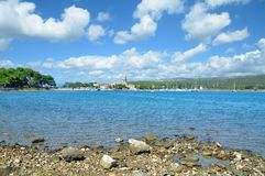 Village of Osor,Cres Island,adriatic Sea,Croatia Royalty Free Stock Photos