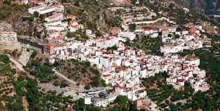 Village Otivar, Province of Granada, Spain Stock Photo
