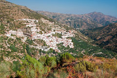Village Otivar, Province of Granada, Spain Royalty Free Stock Photo