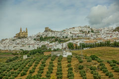 Village in the outback of Anadalusia. A village in the outback of Andalusia Stock Images