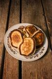 Village pancakes Stock Image