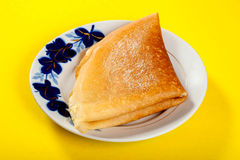 Village pancakes. Russian traditional pancakes. Close-up Stock Photo