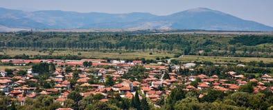 Village Panorama. Panorama of Stob village in Bulgaria Stock Photography