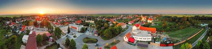 Village panorama Stock Image