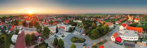 Village panorama Stock Photo