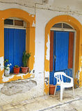 Village Panormo at Crete, Greece stock photography