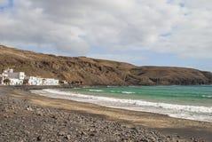 Village par la mer Photographie stock libre de droits