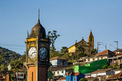 Village of Paranapiacaba Stock Photography