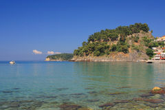 The village of Parga Stock Images