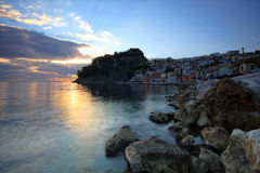 The village of Parga Royalty Free Stock Image