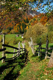 Village path in mountains Stock Photography