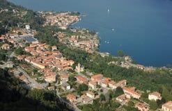 The village of Pella on lake Orta Royalty Free Stock Image