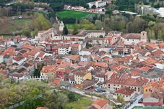 Village of Penafiel in Valladolid Royalty Free Stock Photo